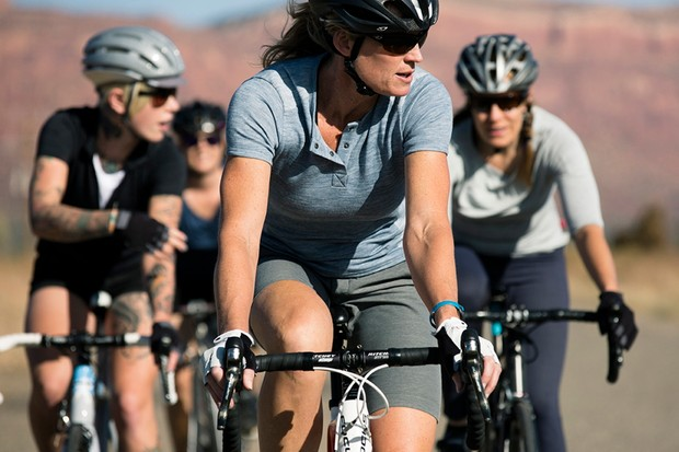Giro New Road includes a deep collection of women's clothing for spring 2014