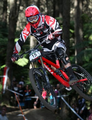 Trek World Racing athlete George Brannigan claimed the New Zealand National Championship on Trek's 650B (27.5in) Session prototype