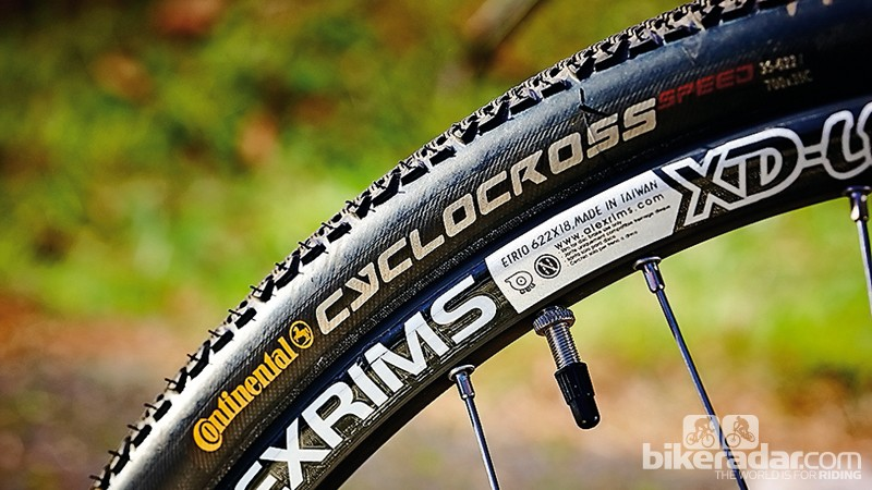 Cyclocross Speed tyres make the bike quicker on the road