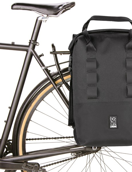 Long known for its iconic messenger bags, San Francisco-based Chrome Industries has a new line of waterproof panniers, bags and backpacks designed with touring and commuting in mind