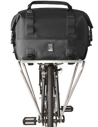 This 40-liter rack has a padded laptop sleeve large enough to accommodate a 15in MacBook Pro