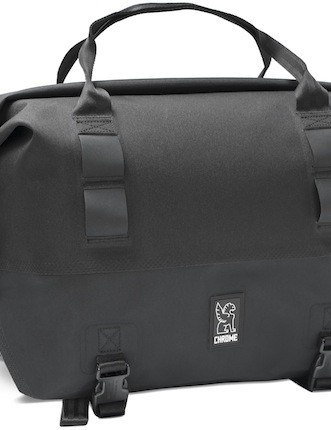 External straps allow the user to lash additional gear to the outside of the Front Rack Duffel