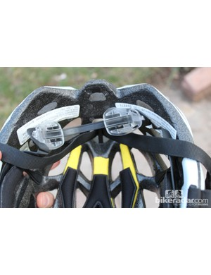 Although not exactly an advertised feature, we appreciated how the retention system can be folded into the helmet for traveling