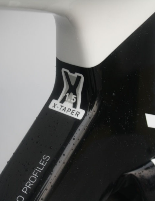 The Reacto-Evo uses a tapered headset