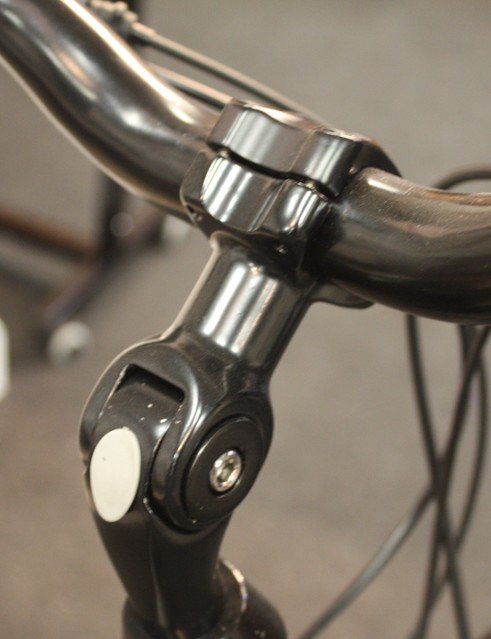 Adjustable stems are fitted to the Vela Two (£299.95) and Three (£349.95)