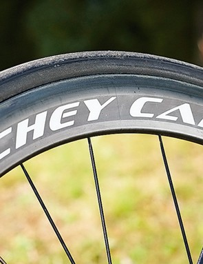 We were impressed by Ritchey's Carbon WCS Apex wheels