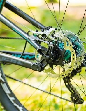 Shimano XTR gears and XT chain