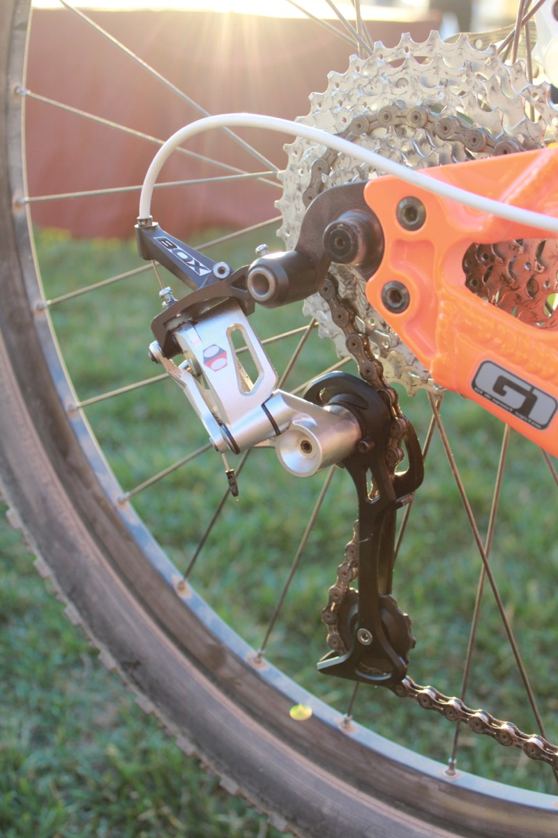 """The Box MTB shifters and derailleur are shooting for """"XT-level"""" pricing and performance, the company says"""