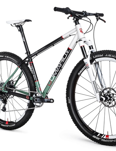 Domahidy Designs will initially offer two models, one of which is a steel 29er hardtail
