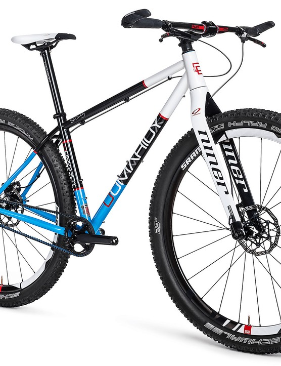 The frames can be set up with gears or as a singlespeed