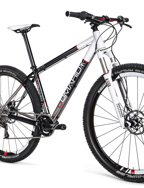 Domahidy Designs will also offer a titanium 29er hardtail