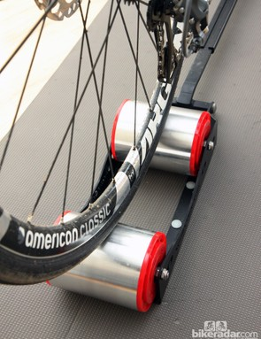 Despite the ultra-narrow width, it's virtually impossible to ride off the side of the SportCrafters Omnium