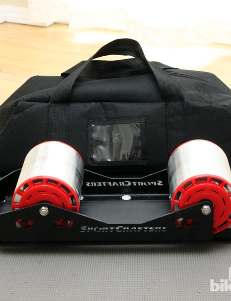 When fully folded, the SportCrafter Omnium measures just 60x18x15cm (22x7x6in) and weighs a scant 6.66kg (14.68lb), including the carrying case