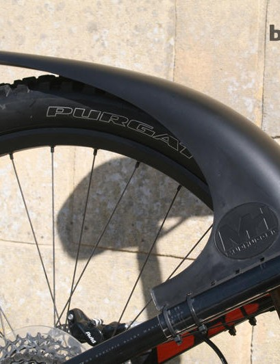The standard sized Mudhugger is not compatible with 29ers