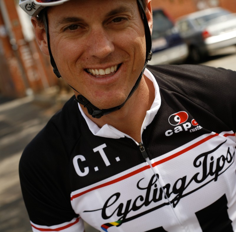 Wade Wallace - founder of Cycling Tips Blog site