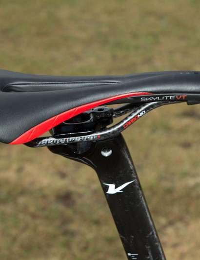 Astute's Skylite saddle has the same shape as the Skyline and Skycarb models