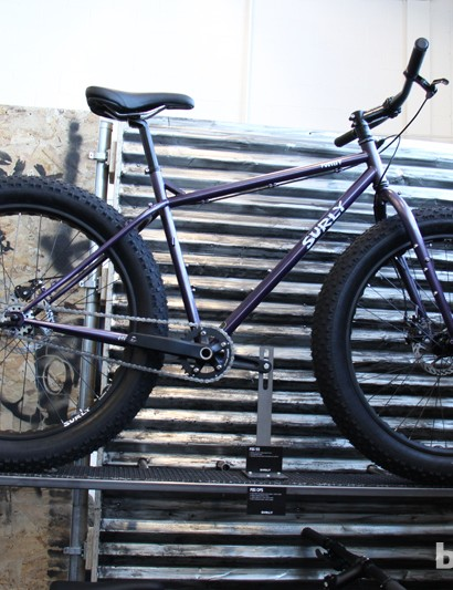If you're looking for a simpler approach to fat biking, Surly is now offering a complete version of the Pugsley built up as a singlespeed
