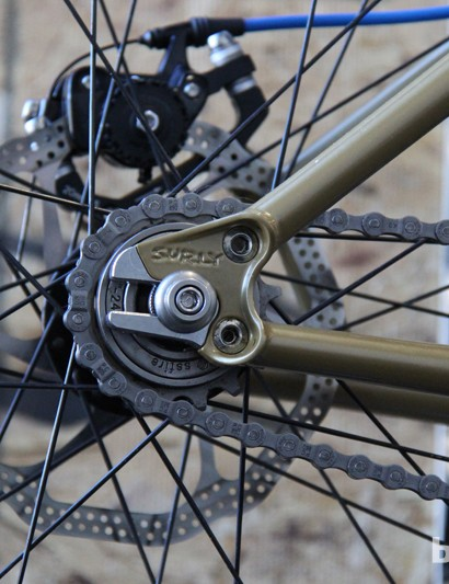 Here's Surly's modular system in singlespeed mode
