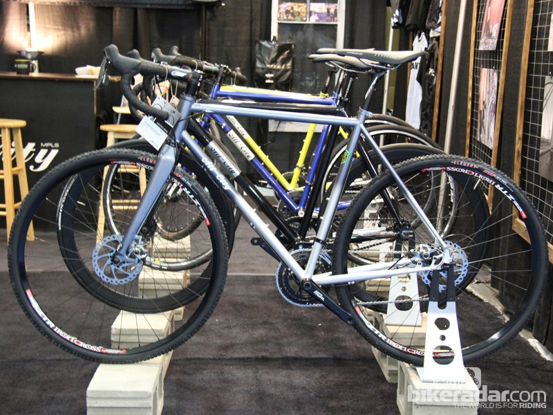 The Macho King is All-City's new disc-equipped cyclcocross bike