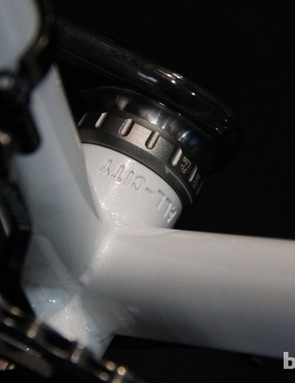 All-City stamped into the bottom bracket shell