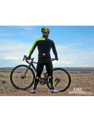 Since everything is stitched together, there are no drafts to worry about with the Castelli SanRemo Thermosuit