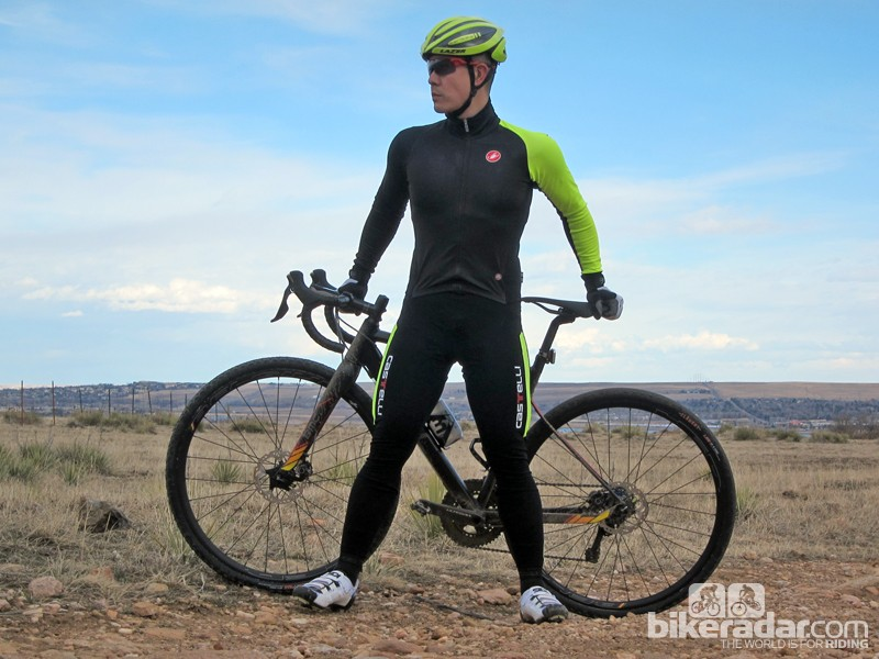 The Castelli SanRemo Thermosuit is an interesting take on winter cycling gear with a one-piece, skinsuit-like construction