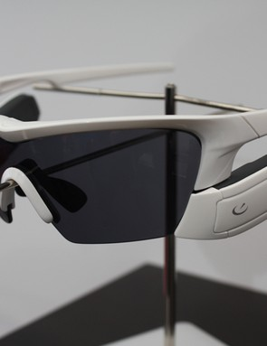 Recon Instruments already make a head up display system for ski goggles, now the technology is migrating into cycling sunnies