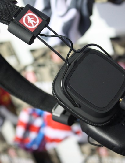 Outdoor Tech also displayed its privates, a new weatherproof pair of headphones that feature swipe controls on the right ear piece - so you can.. err, touch your privates in public?