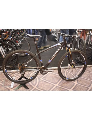 Ridley displayed their 2014 range of mountain bikes, starting with the £639.99 Blast 29er