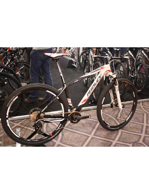 The Ignite Carbon Team is Ridley's range topper and retails for £3,289.99