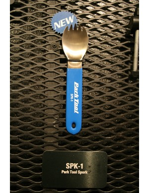 Park Tool make great tools and odd novelties – penny farthing pizza cutter anyone? It's latest irreverent product is a spork