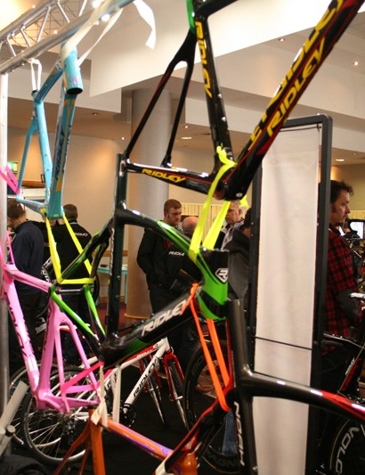 Ridley's custom paint programme is conducted in Belgium and takes 6-8 weeks to complete from the moment of order