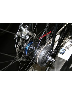 The Shimano Alfine is a premium quality internal hub