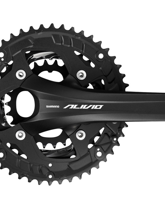 There's also an Alivio trekking chainset that's available with an Octalink bottom bracket