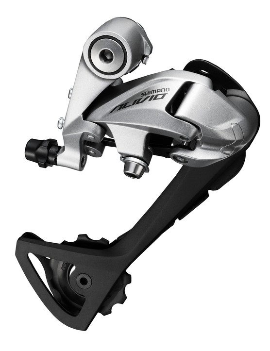 The new T4000 Alivio trekking specific derailleur