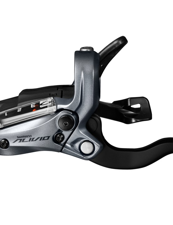 The ST-M4050 shifter/hydraulic brake lever