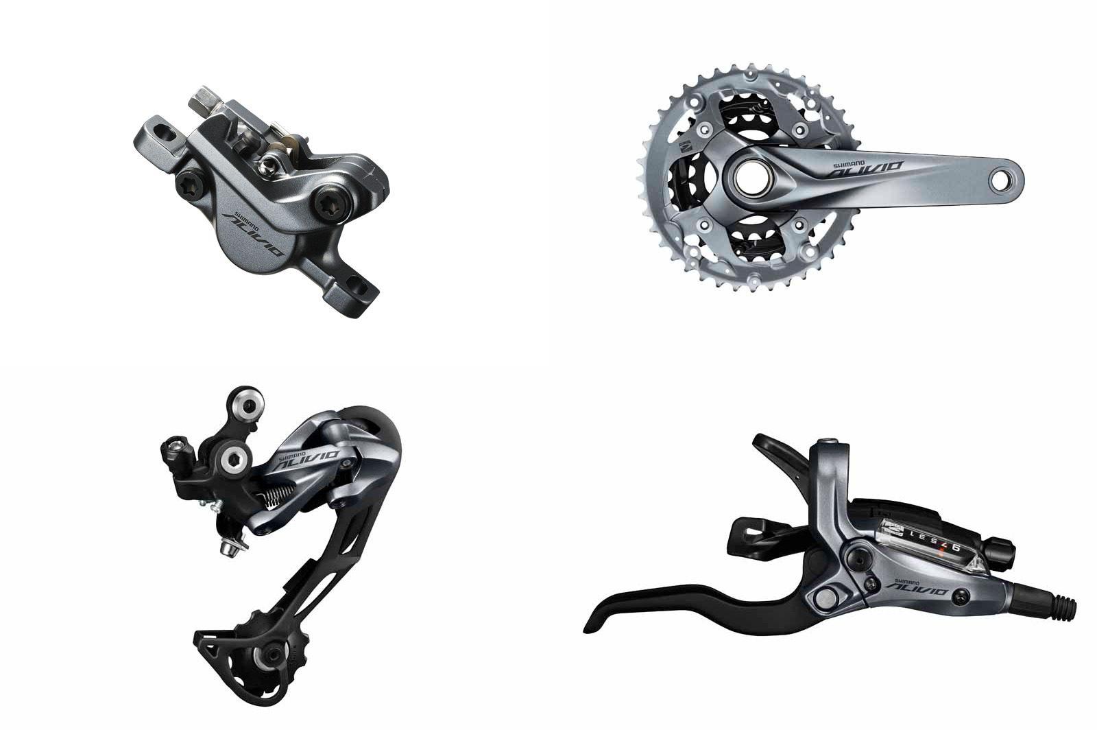 9 Speed MTB Mountain Bike Shadow Rear Derailleur for Shimano Alivio RD-M4000 AST