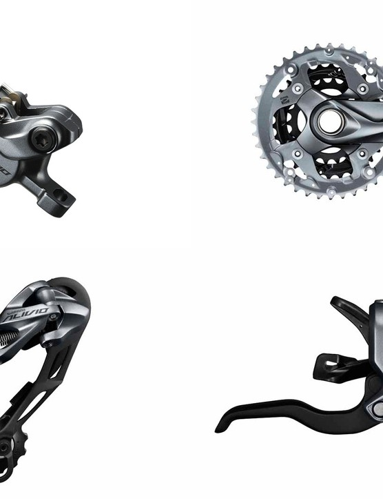 Shimano Alivio 2014 group