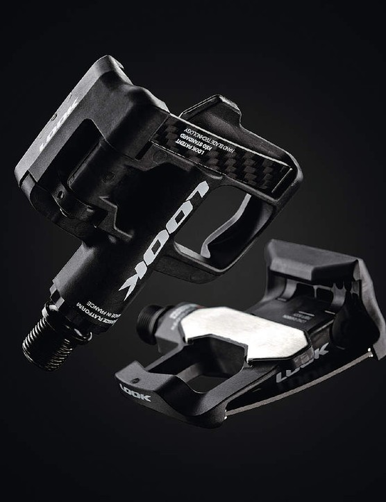 Look's clipless technology was derived from ski-binding