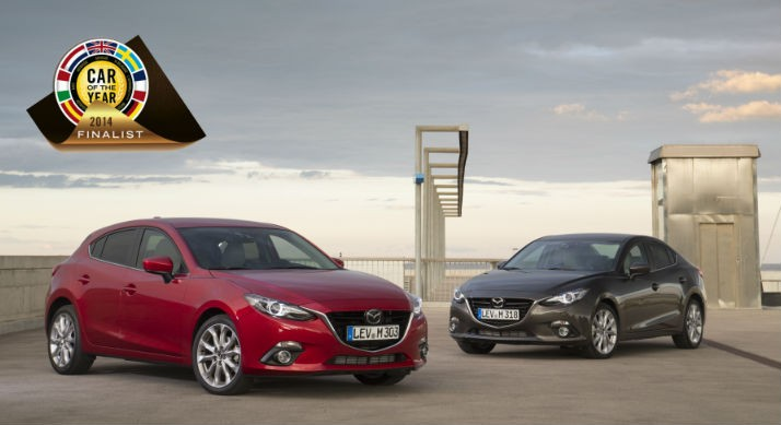 All-new MAzda3 is a finalist in the Car of the Year 2014 awards