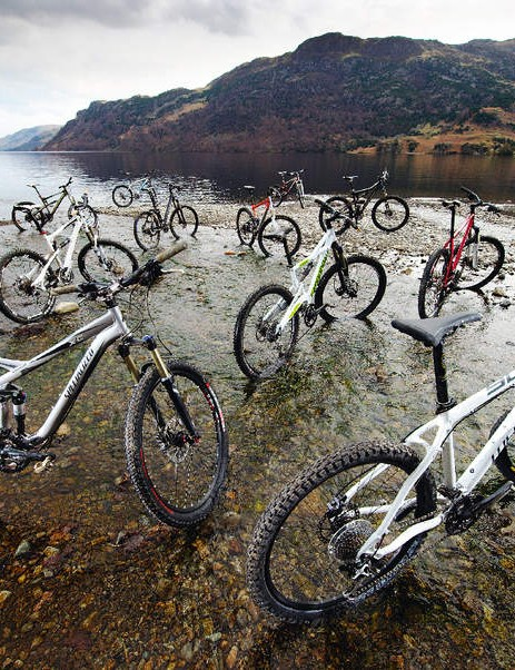 A selection of What Mountain Bike's bike of the year choices