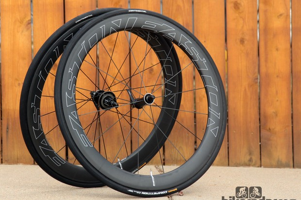 Easton says its new EC90 Aero 55 Tubulars are the ultimate 'one wheel' solution