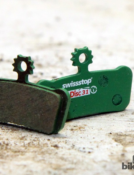 SwissStop is best known for its road rim brake pads but the company also offers a wide range of disc brake pads in multiple compounds and fitments