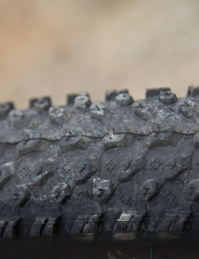 The non-branded tyres were a surprise, with decent grip and generous speed