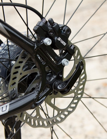 The Tektro Draco brakes are reliable stoppers with a firm lever feel