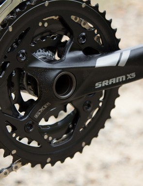 The SRAM X5 components offer many of the features seen on higher-end groupsets