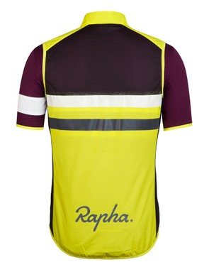 The Rapha Brevet jersey comes with a flouro gilet