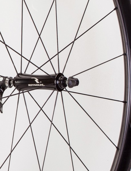 Reynolds has updated the Assault aero wheelset for 2014, making them wider and slightly shallower than the previous version