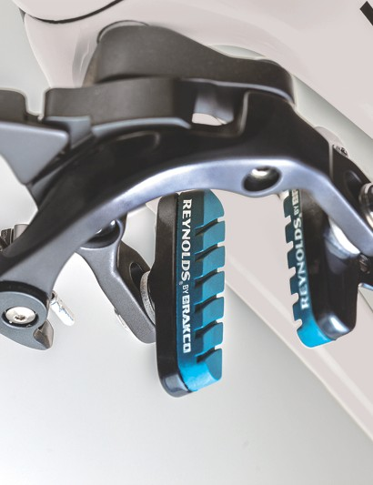 Reynolds substantially beefed up the CTG brake pad. The company claims braking power has increased 33 percent in the dry and 42 percent in the wet
