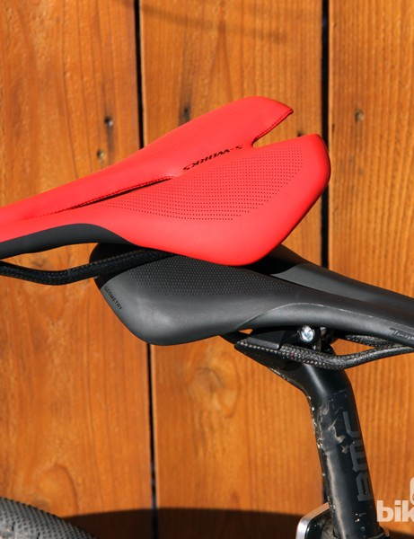Specialized will offer the new S-Works Toupe in black, red, and white (not shown)